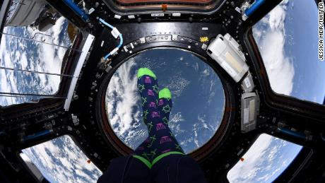 Astronaut Jessica Meir celebrates Hanukkah from space and anywhere else