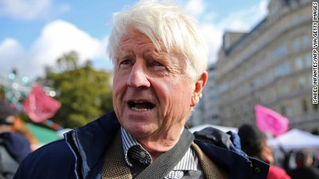 Stanley Johnson, the father of the British prime minister, was criticized for his comments on pilots wearing the burqa