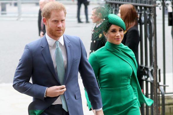 The Duke and Duchess of Sussex stepped down from their senior royals in March