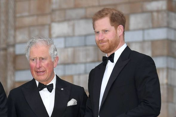 Prince Harry has been criticized for appearing to be digging Prince Charles