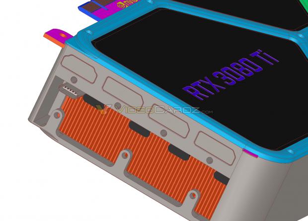 NVIDIA GeForce RTX 3080 Ti-lek: PCIe-voedingsconnector aan uiteinde van kaart 10 |  TweakTown.com