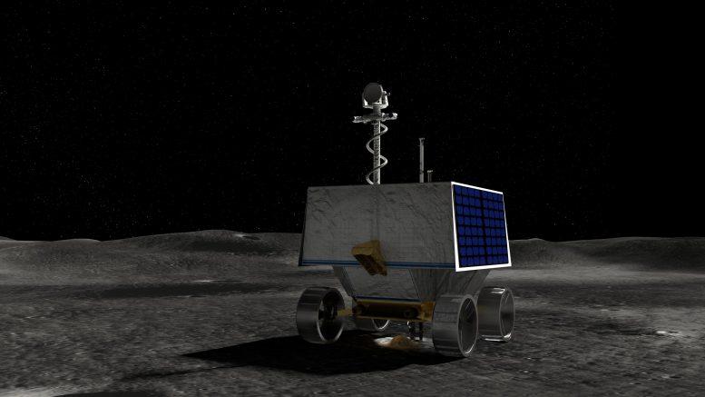NASA vluchtige verkenningssonde Polar Rover